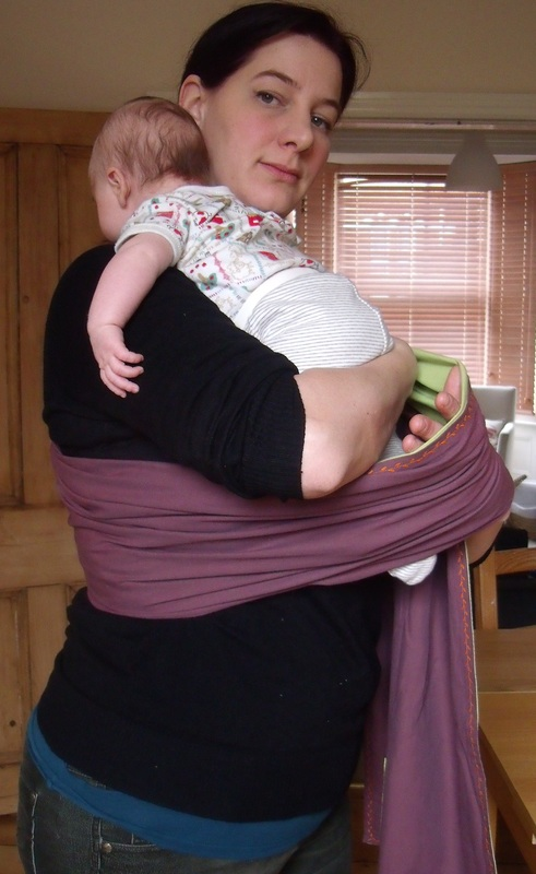 ring sling newborn hold
